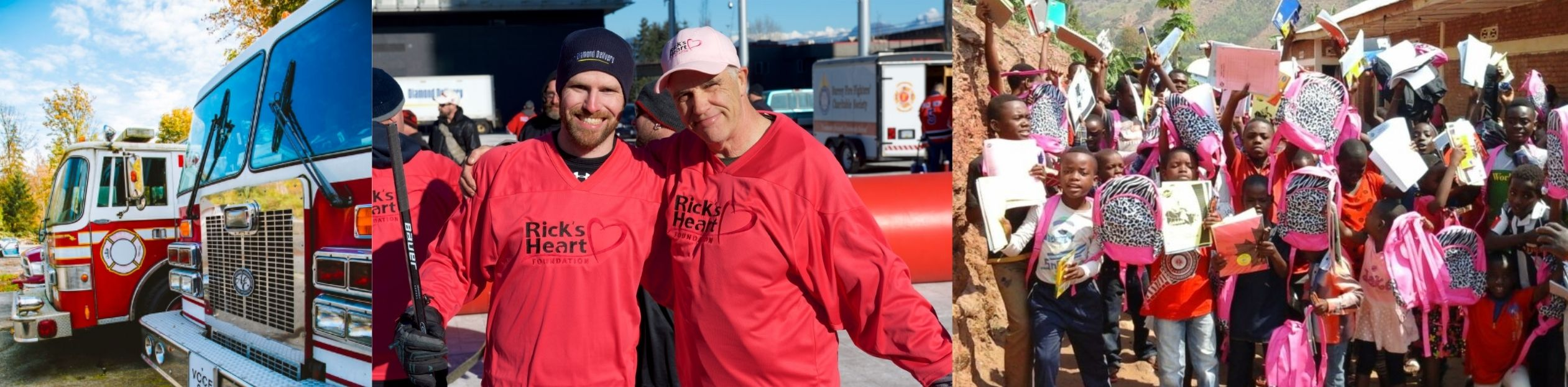 Rick's Heart Foundation Surrey Charity Diamond Delivery