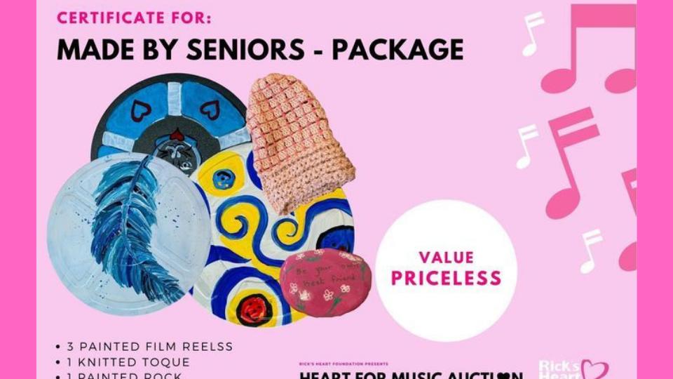 Heart For Music Seniors Art